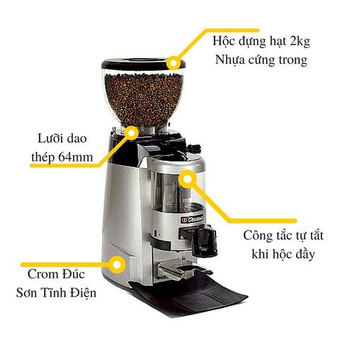 Máy xay cà phê Casadio Enea 64 - Phin Việt