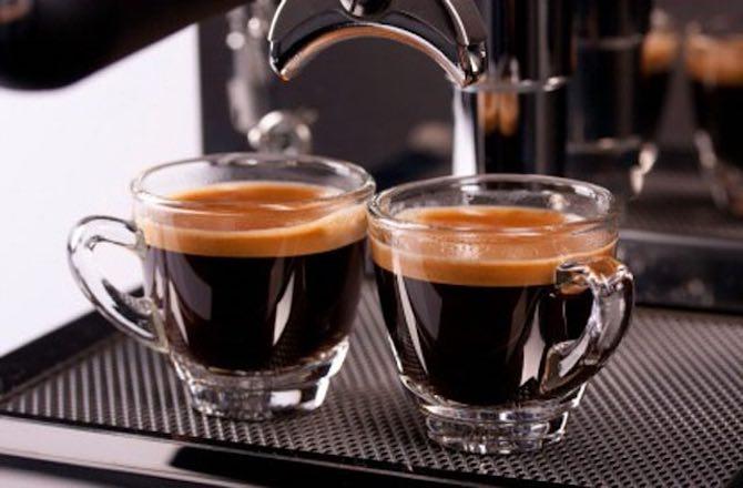 quán cà phê espresso