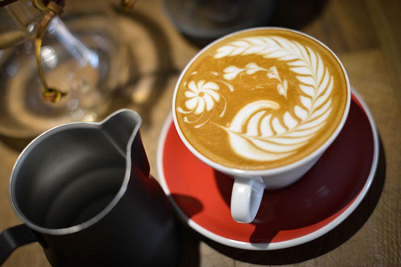 Cafe latte hiện đại