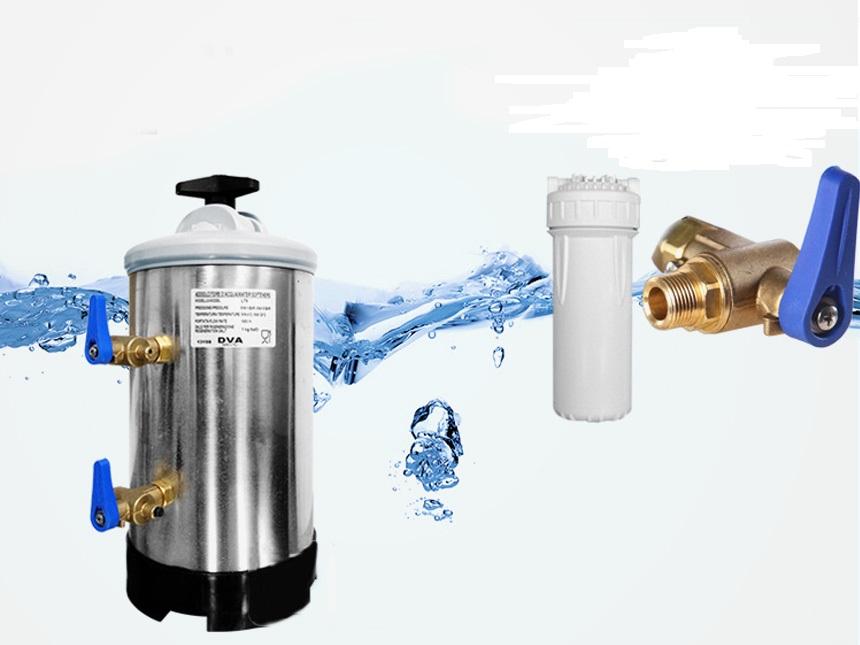 Sử dụng bộ lọc để đảm bảo chất lượng nước ổn định