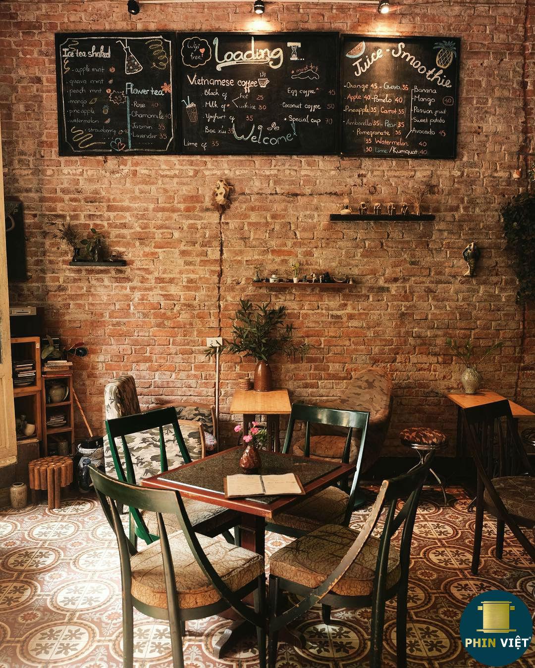 menu quán cà phê Loading T