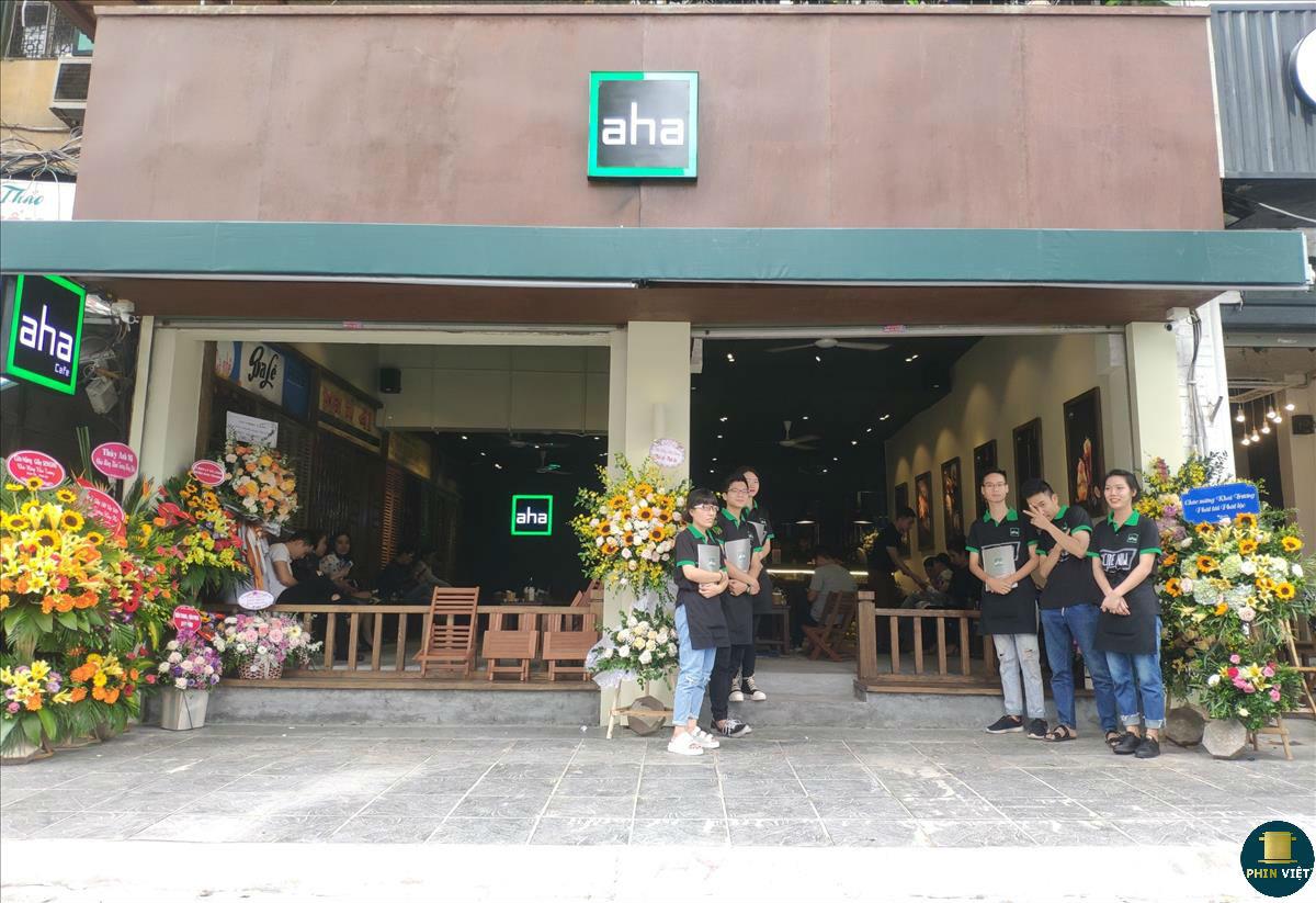 Aha chuỗi quán cafe nổi tiếng hiện nay