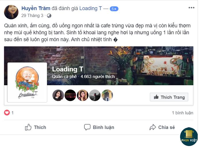 Feedback của khách hàng Loading T