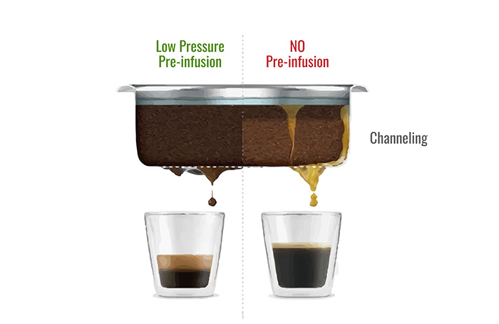Giai đoạn đầu chiết xuất cafe
